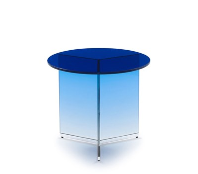 Cleo Pull Up Table in Cobalt
