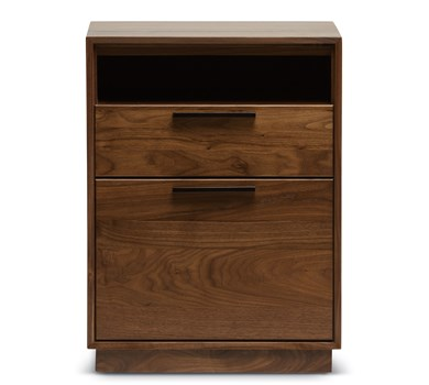 Intel Narrow Rolling File Cabinet with Cubby
