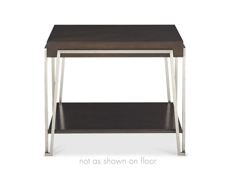 Iron Eye Square Lamp Table