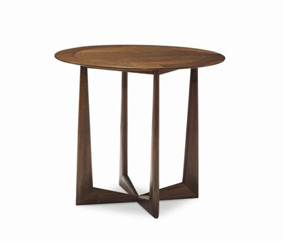 Loren Walnut Lamp Table