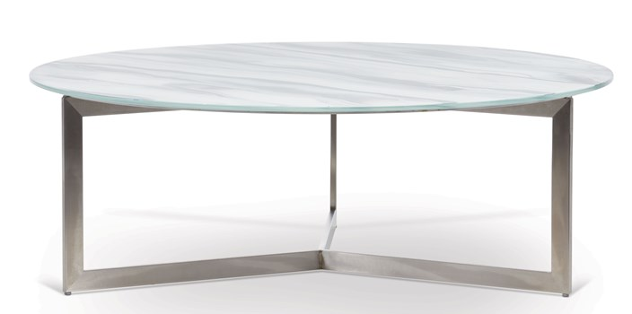 Drei Round Cocktail Table