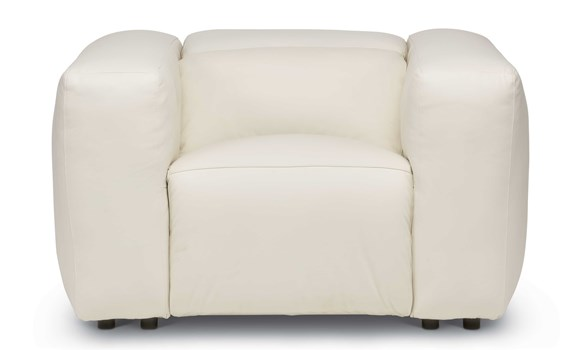 Cosmo Power Motion Leather Chair
