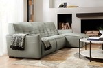 Reaux 3-Piece Motion Leather Sectional