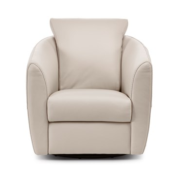Bubble Swivel Leather Chair