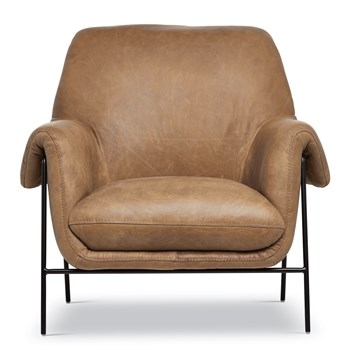 Ambroise Metal Club Chair