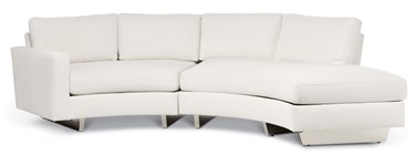 Cool Clip Sectional - Reverse Configuration