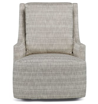 Dean Swivel Chair-Herringbone