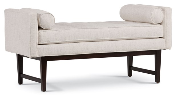 St. Maarten Tufted Bench