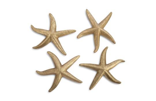 Medium Gold Leaf Starfish