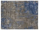 8' X 10' Blue/Gray Hand Knotted Rug