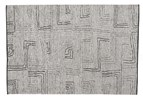 8' X 10' Gray Hand Knotted Rug