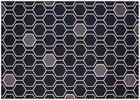 8X10 Geo-Black Rug