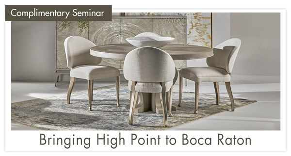 Bringing High Point to Boca Raton