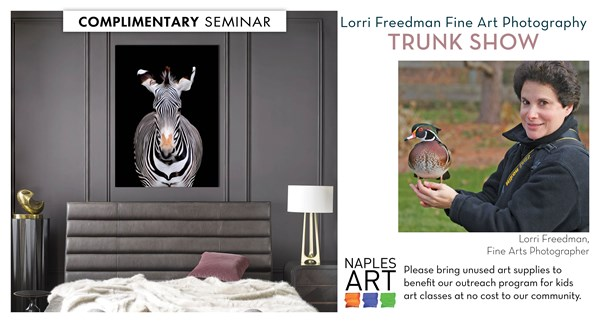 Lorri Freedman Fine Art Photography Trunk Show