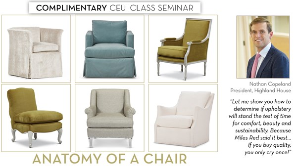 Anatomy of a Chair - Sarasota