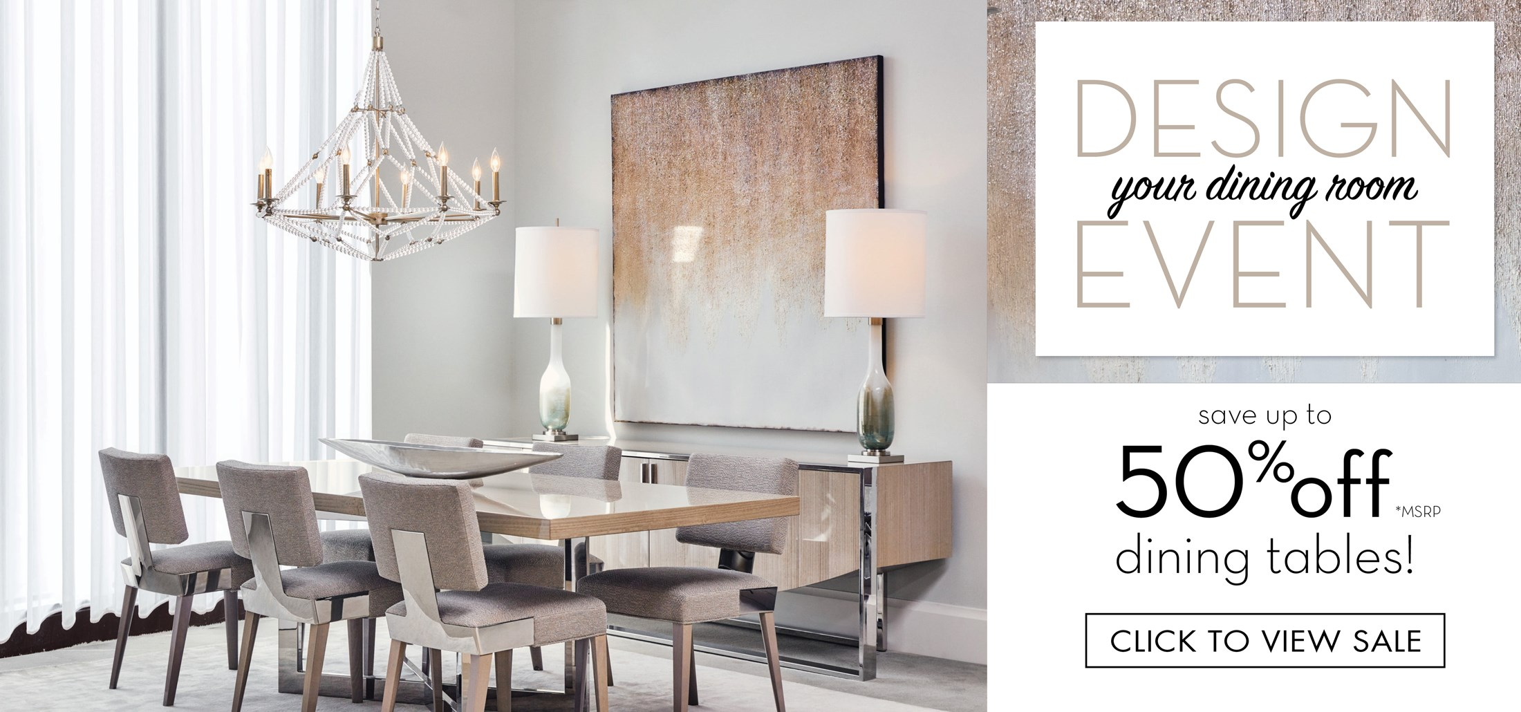 Design Your Dining Room Event