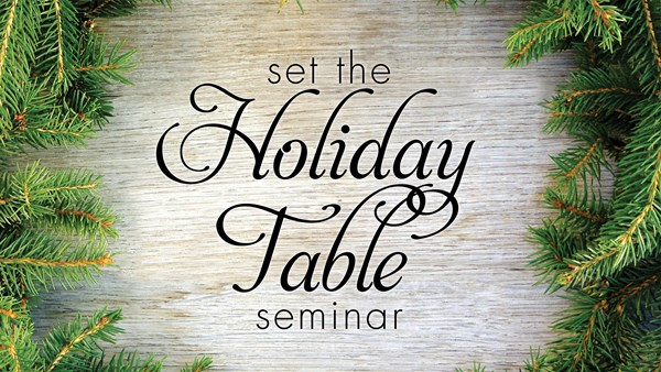 Holiday Table Tops - Ft. Myers