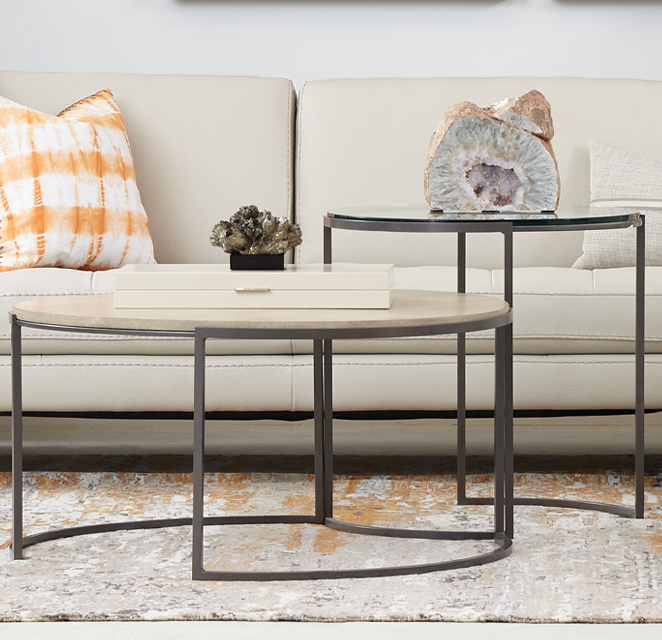 COCKTAIL & END TABLES