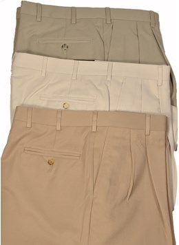 Berle-Microfiber-Trousers-Pleated--Flat-Front-Self-Sizer-Optional