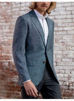 Baroni-Couture-Sport-Coat-Coral-Plaid-Spring-2019