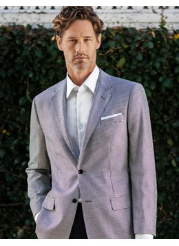 Baroni-Couture-Silk--Wool-Check-Sportcoats