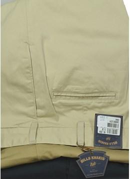 Bills-Khakis-Chamois-Cloth-Pleated--Flat-Front