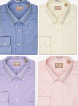 Gitman-Brothers-Essentials-2X2-TTX-PinPoint-Oxford-Button-Down-Collar-5-Colors