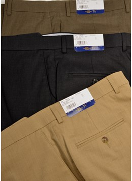 Hart-Schaffner-Marx-100-Wool-Trousers-Pleated-or-Flat-Front